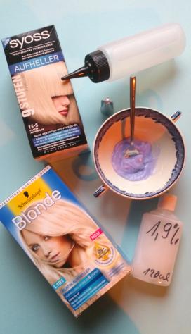 dreads blondieren